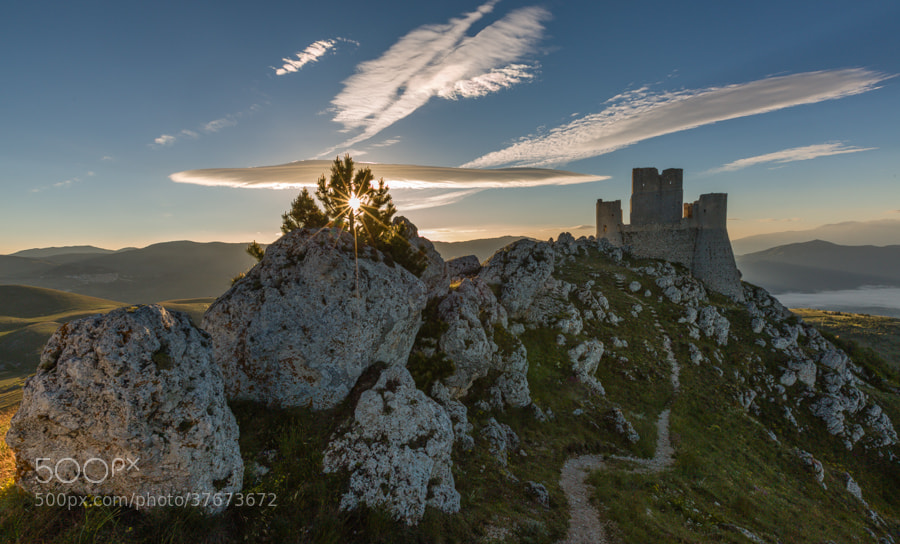 Photograph Rocca Calascio in morning light. by Hans Kruse on 500px