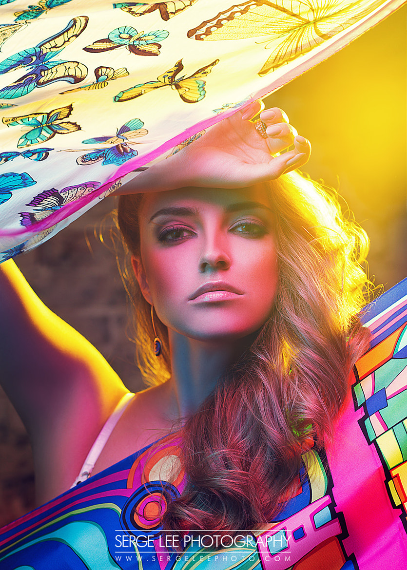 Photograph Colorful Christy by Serge Lee on 500px