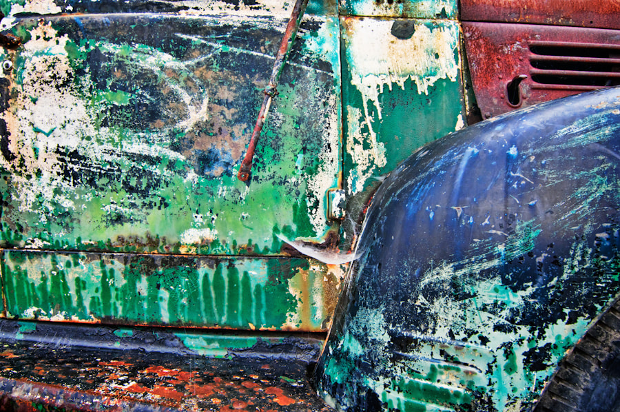 Photograph Old Truck Abstract by Tim Fleming on 500px