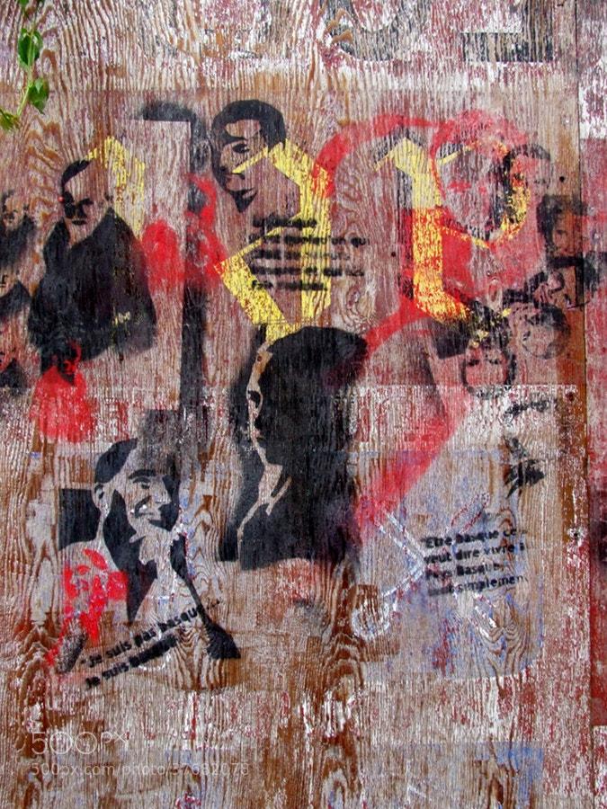 Photograph wooden street art by Joakim Chappel on 500px