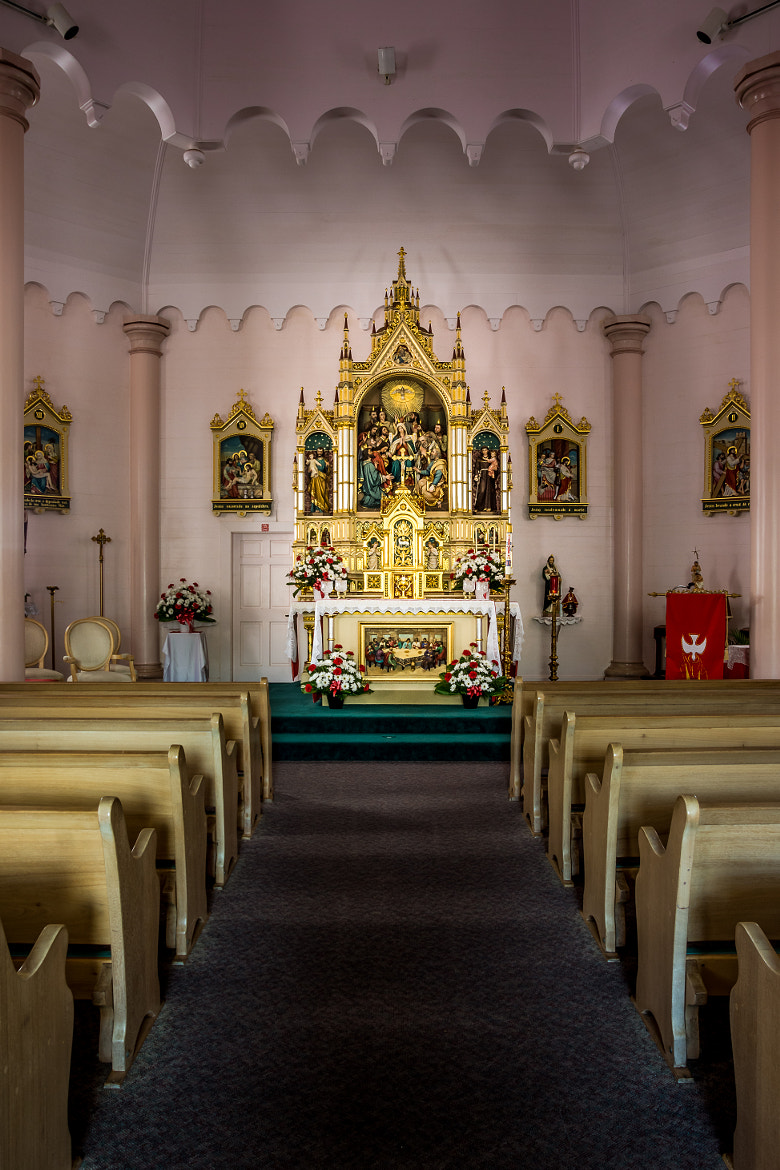 Photograph Alter, Holy Ghost Catholic Church by Erik Pronske on 500px