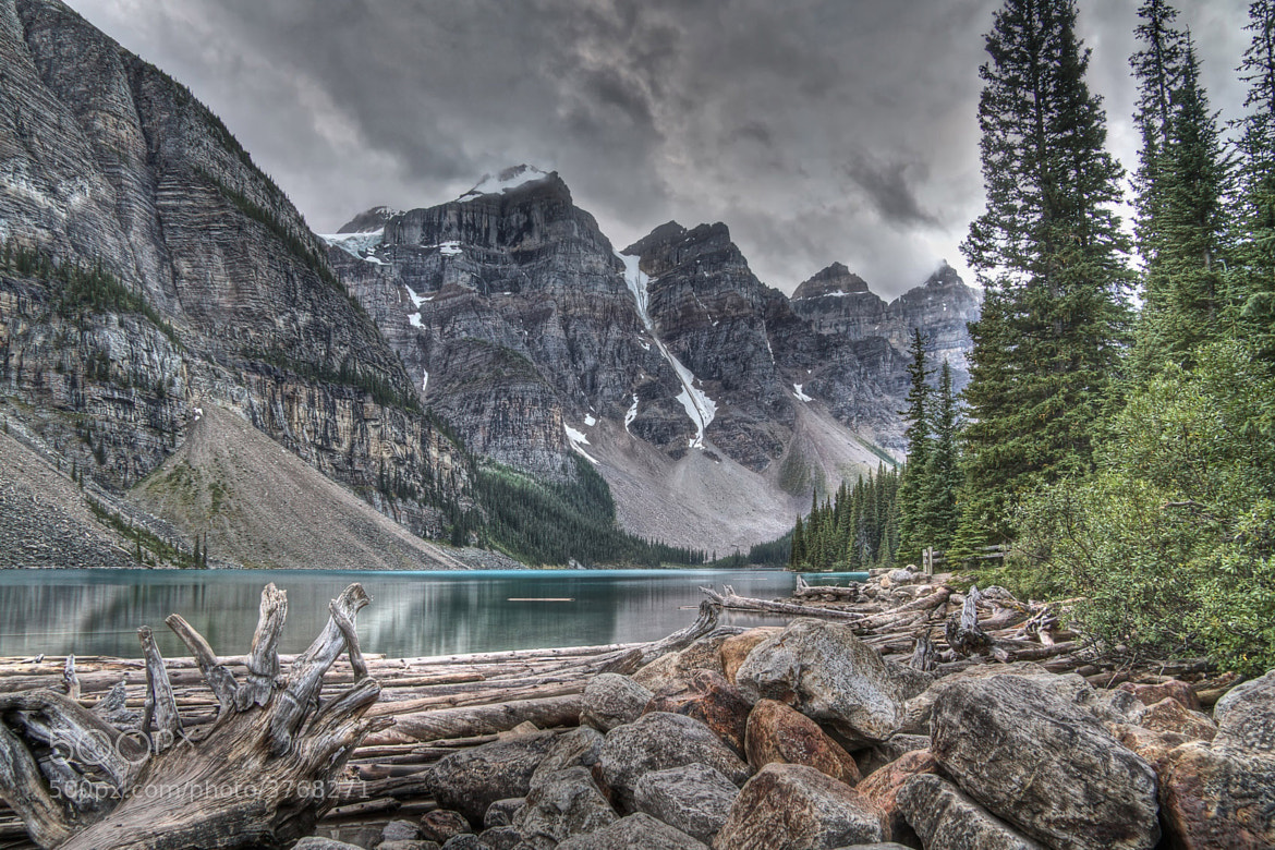Photograph Moraine Lake 1 by Ted Kennedy on 500px