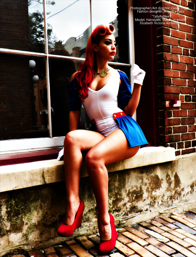 Photograph Pinup girl by Casey Diggs on 500px