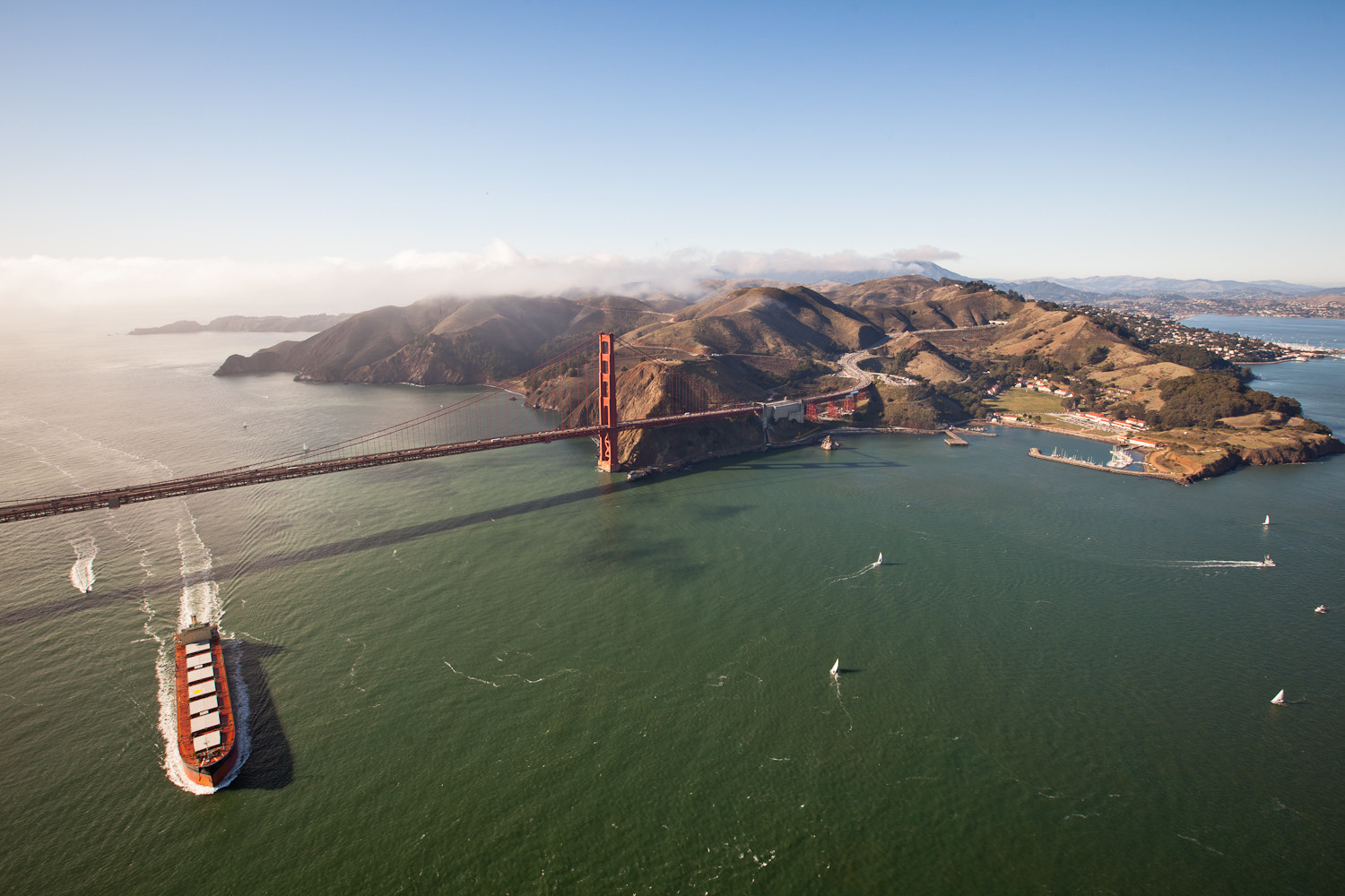 Photograph Golden Gate by Dan Pupius on 500px