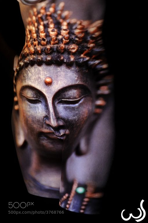 Photograph Facing Buddha by Wolfgang Schroffner on 500px