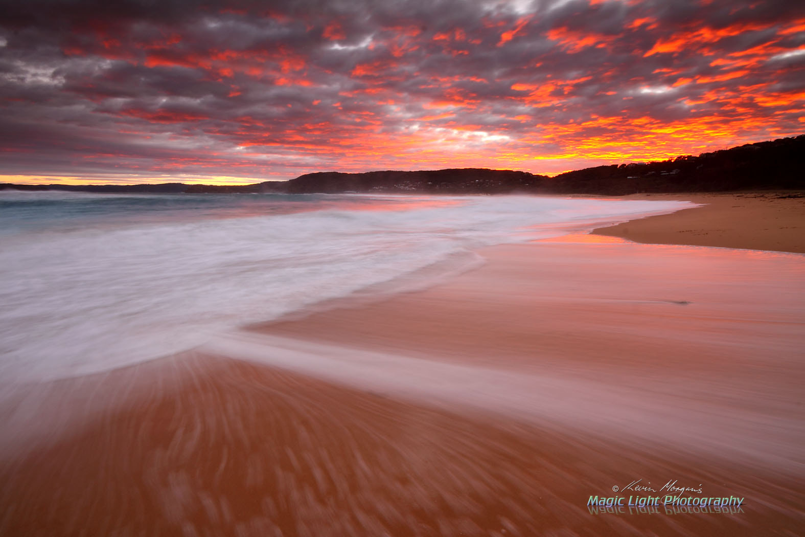 Photograph Sunset at Putty Beach by Kevin Morgan on 500px