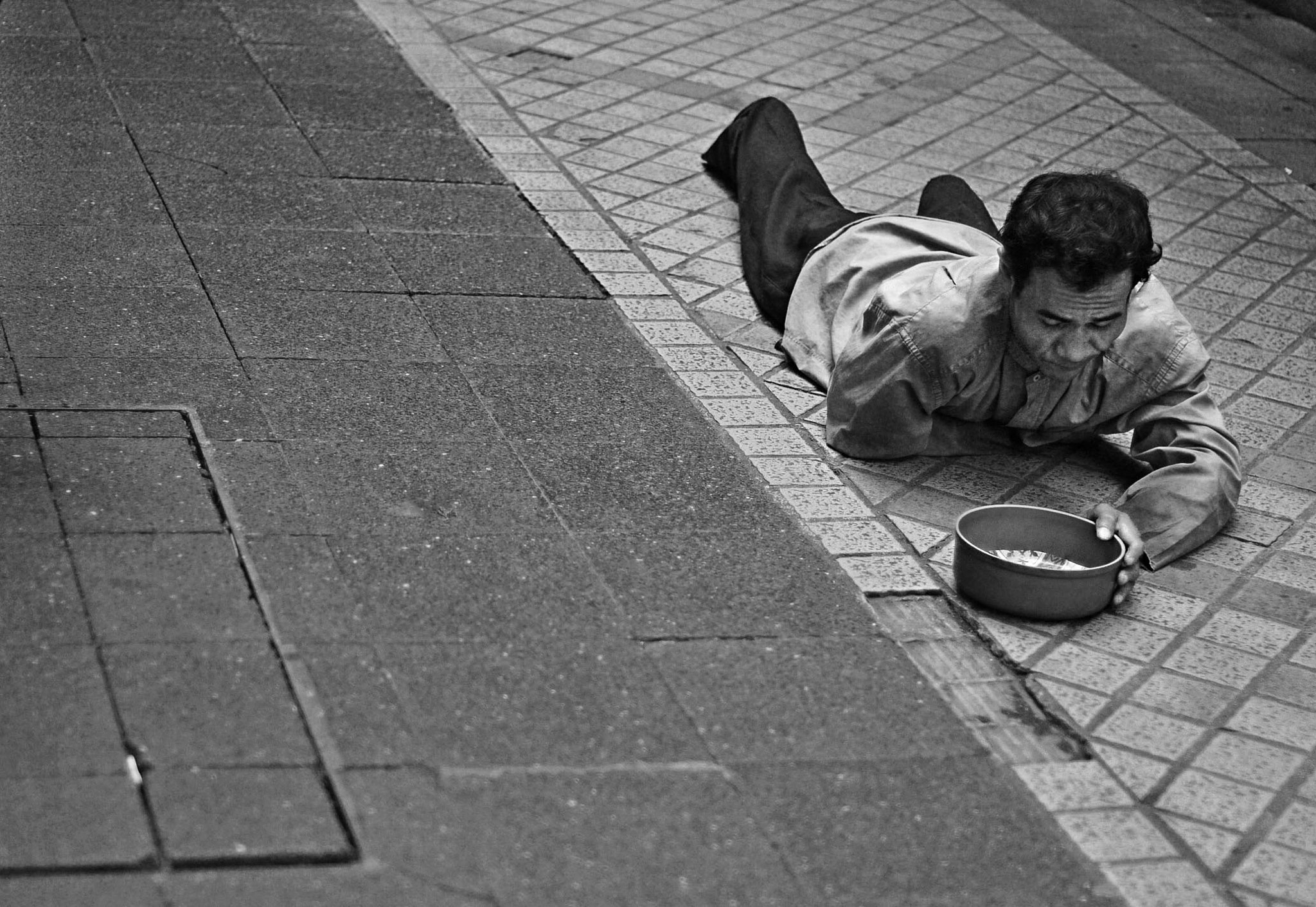 Photograph Handicapped Beggar by Alfred  Deviruss on 500px