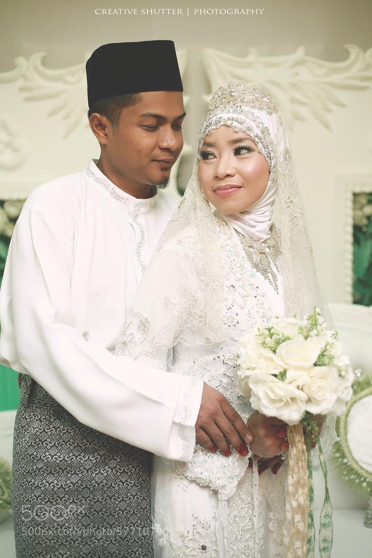 Photograph Aida & Alif white by mohd syafiq mohd zainuddin on 500px
