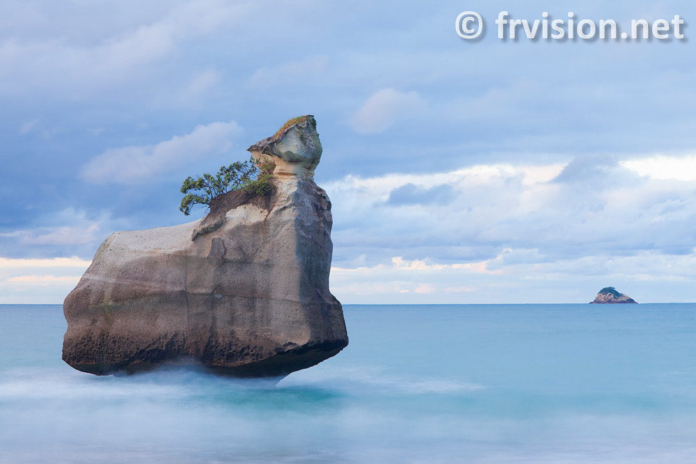 Photograph Cathedral cove, North Island, New Zealand by Javier Fores on 500px