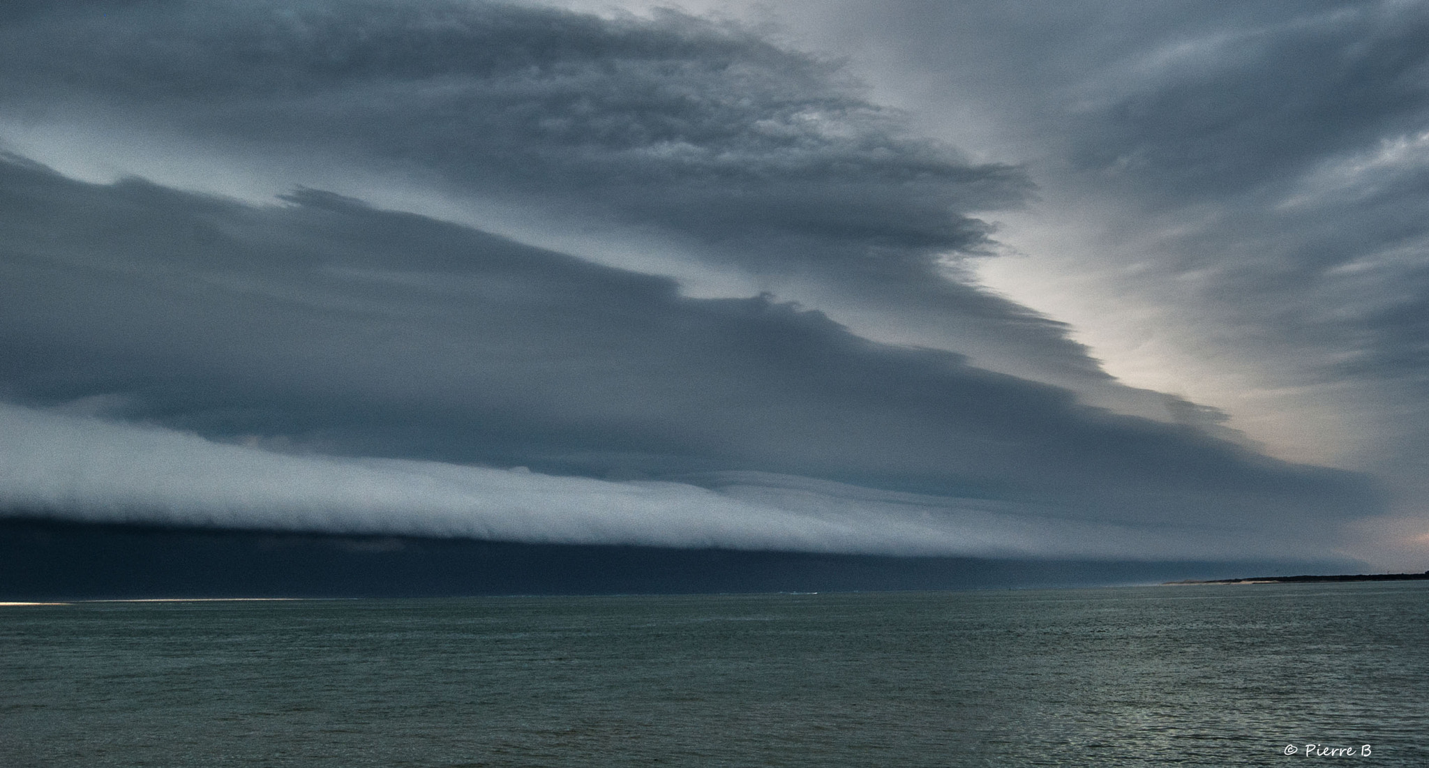Photograph Arcus cloud on the sea  by Pierre Bonnel on 500px