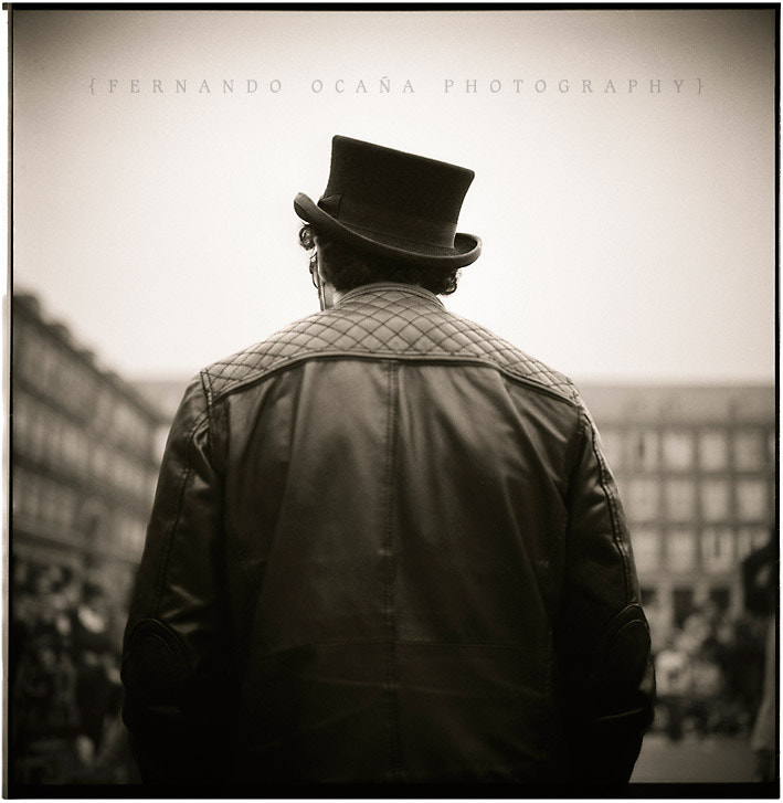 Photograph Man with hat and jacket by Fernando Ocaña on 500px