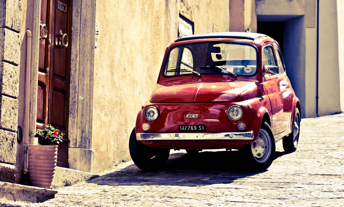 Photograph Fiat 500 by Stuart Crawford on 500px