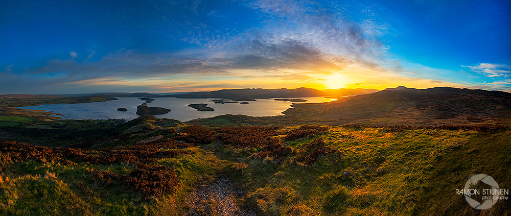 Photograph Conic Hill by Ramon Stijnen on 500px