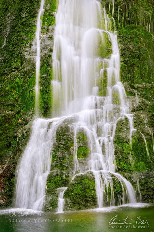 Photograph Golling Waterfall V by Christian Öser on 500px
