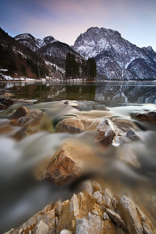 Photograph Winter Lake II by Anne Mäenurm on 500px