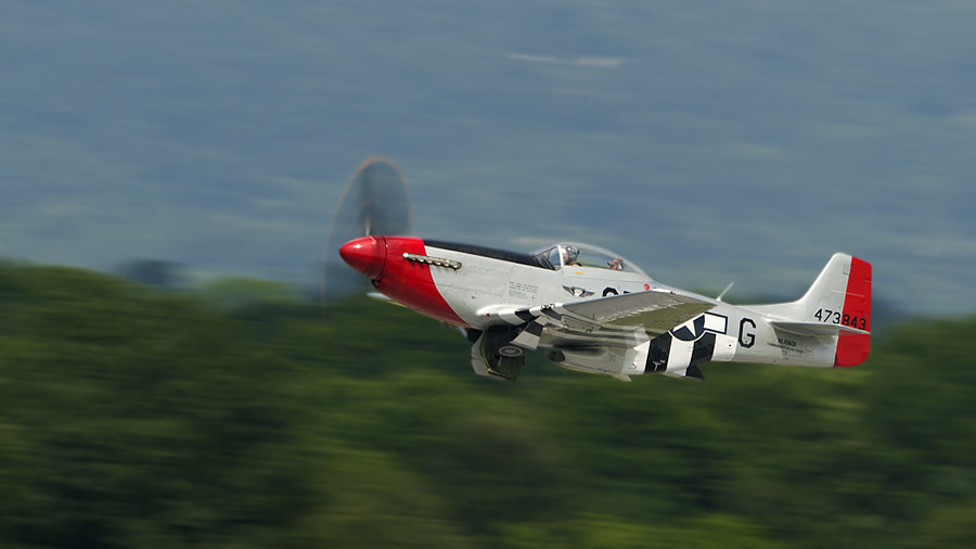 Photograph Mustang is taking off by Darek Siusta on 500px