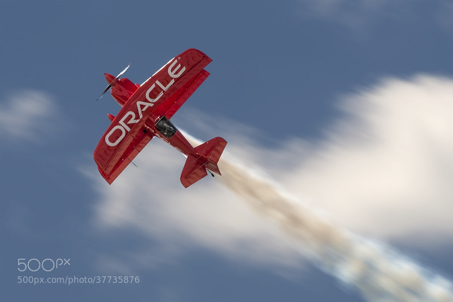 Photograph Sean Tucker in his CHallenger III by Darek Siusta on 500px