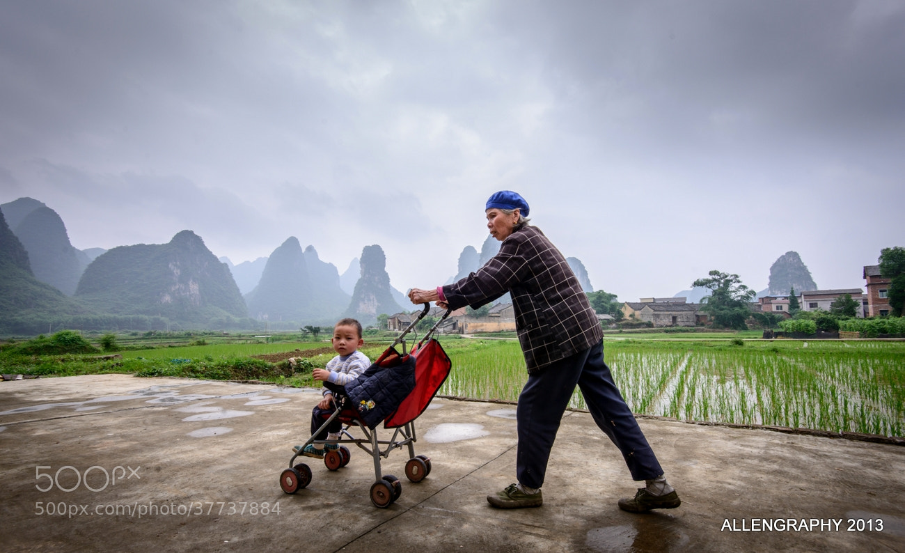 Photograph Life in a small village by Allen Lee on 500px