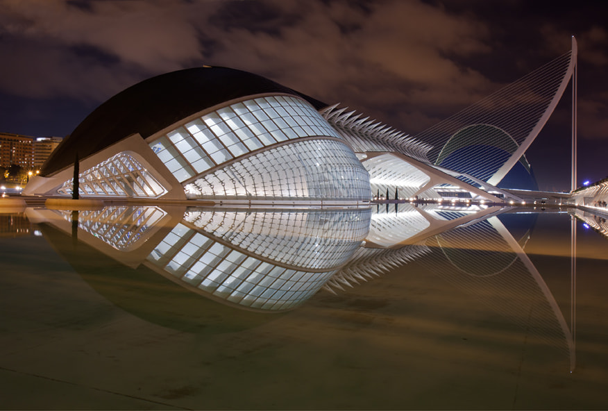 Photograph The City of Arts and Sciences, Valencia (I) by Angel Villalba on 500px