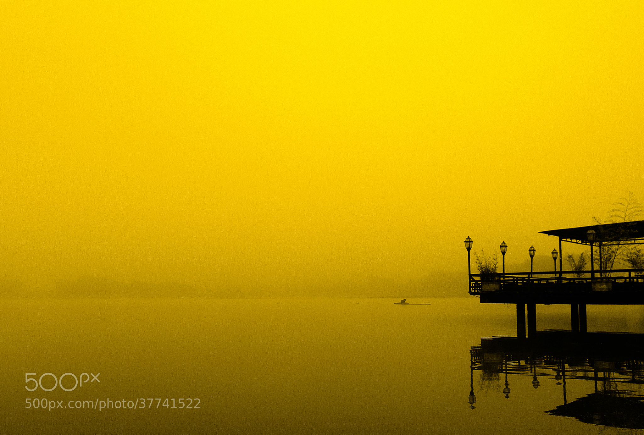 Photograph Foggy lake by Itamar Campos on 500px