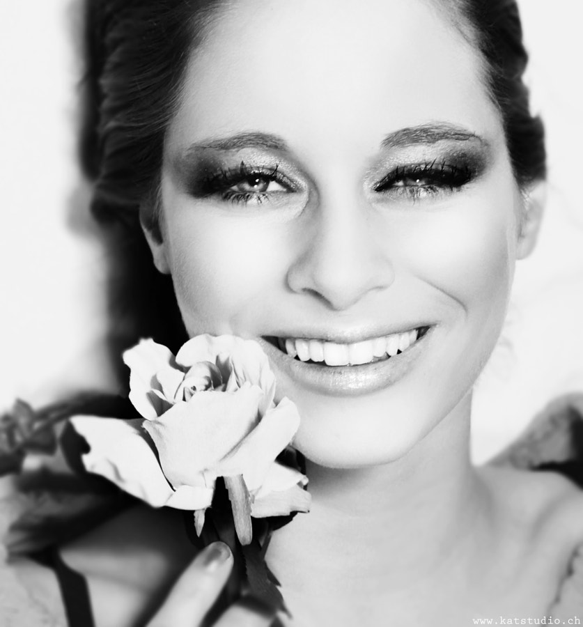 Make Up & Photography by me ( KATstudio )  Smile is also the part of your beauty!