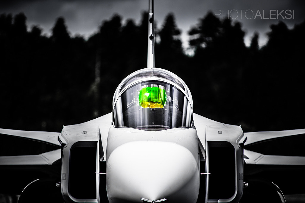 Photograph Saab JAS-39 Gripen by Aleksi Hämäläinen on 500px