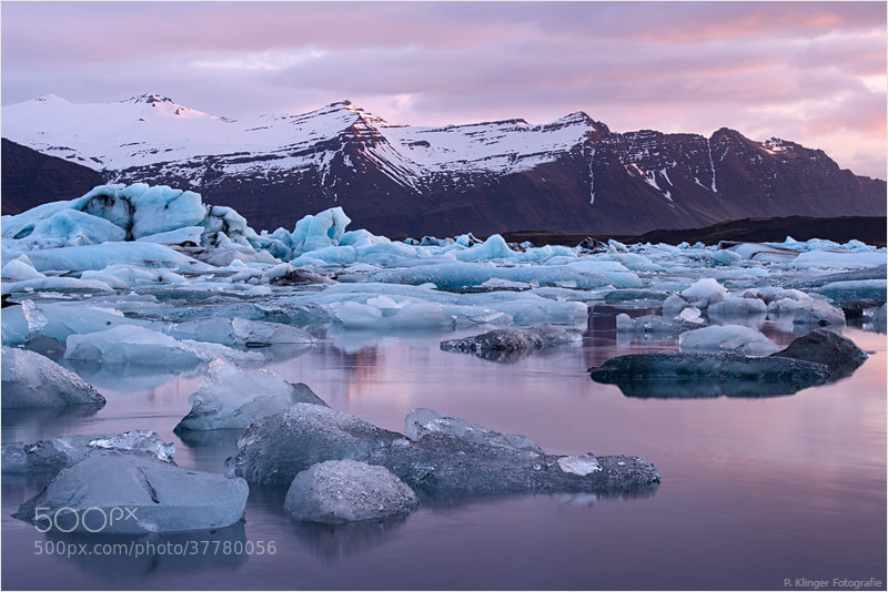 Photograph Glacier lagoon sunrise by Philip Klinger on 500px