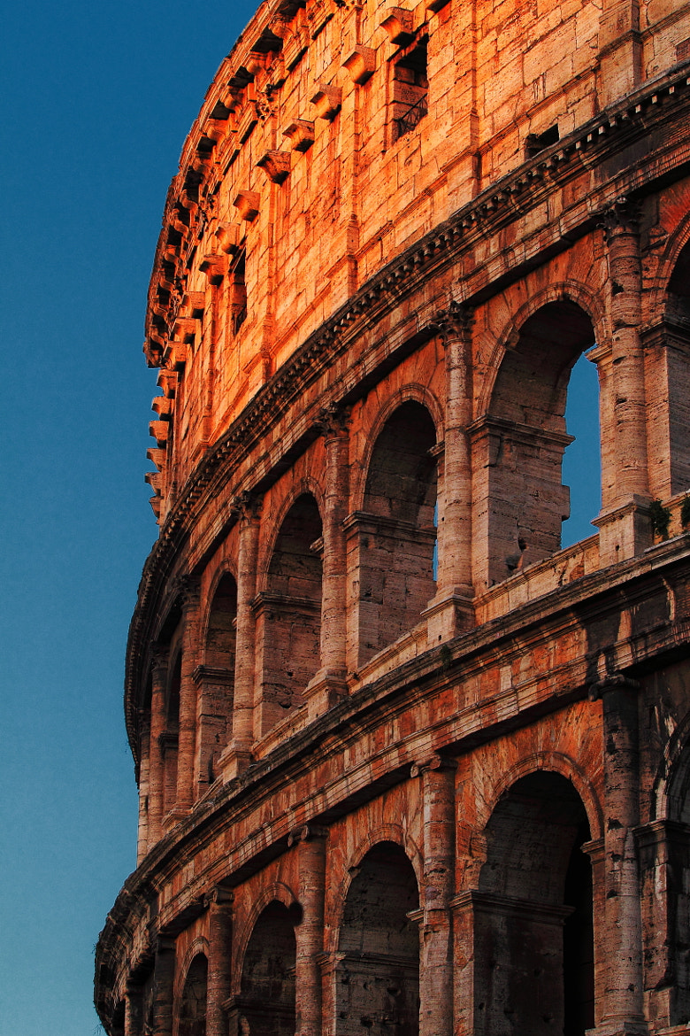 Photograph Colosseum Burning Red by Vincent Falardeau on 500px