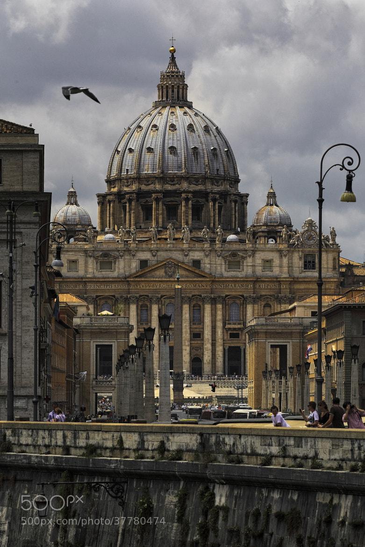 Photograph St. Peter's Basilica by Vincent Falardeau on 500px