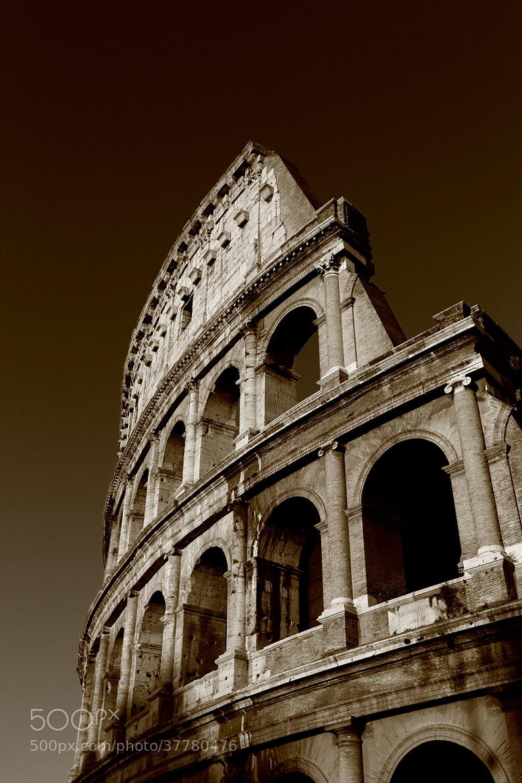 Photograph Colosseum by Vincent Falardeau on 500px