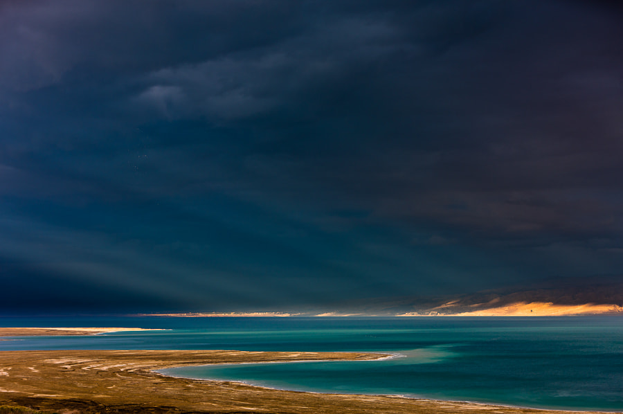 Photograph Storm over the Dead Sea by Hans Kruse on 500px