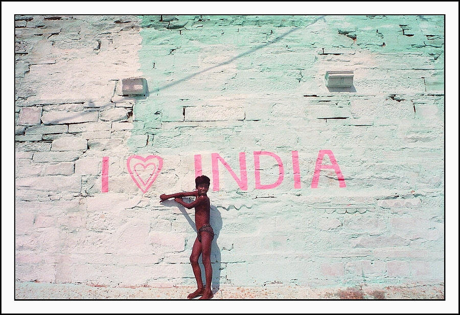 Photograph I Love India by Matthew Harvey on 500px