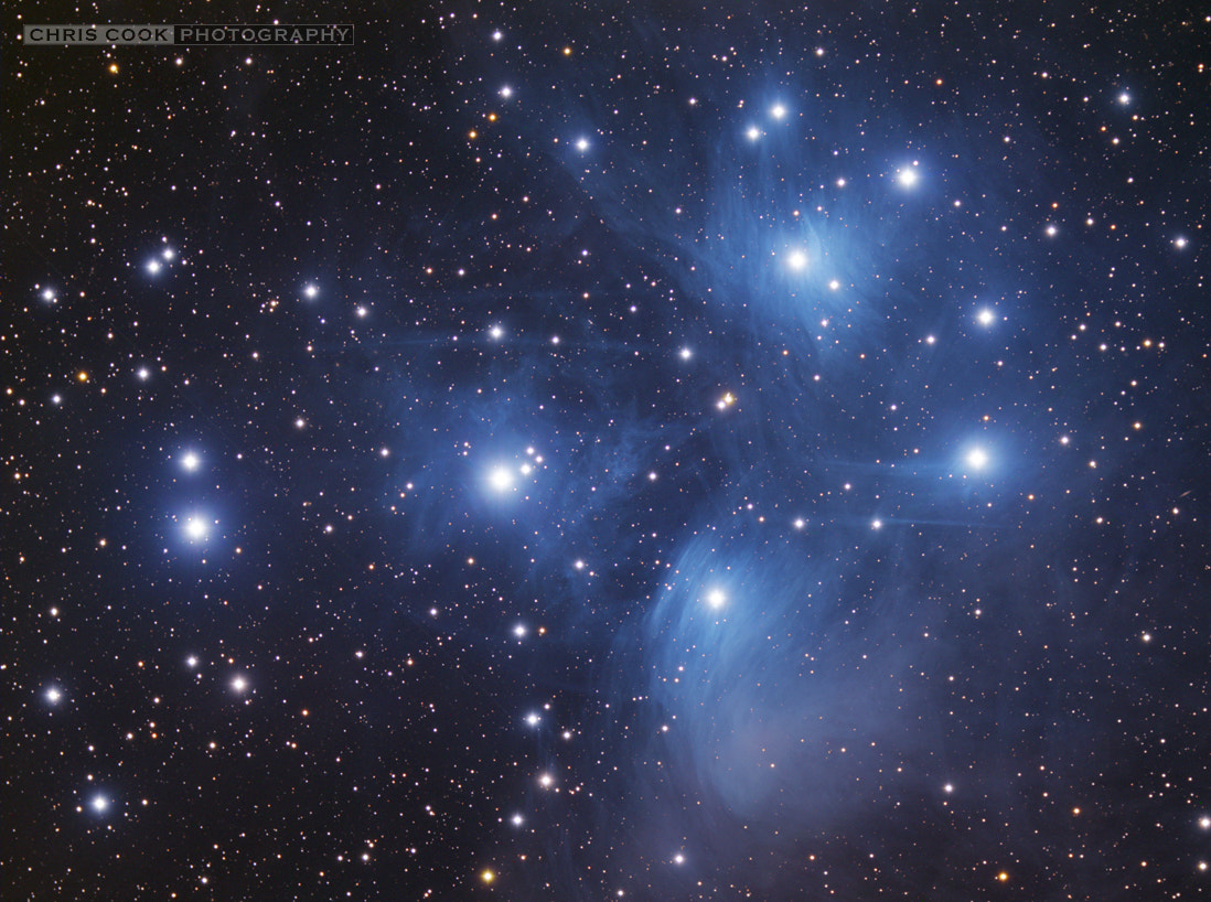 Photograph The Pleiades by Chris Cook on 500px