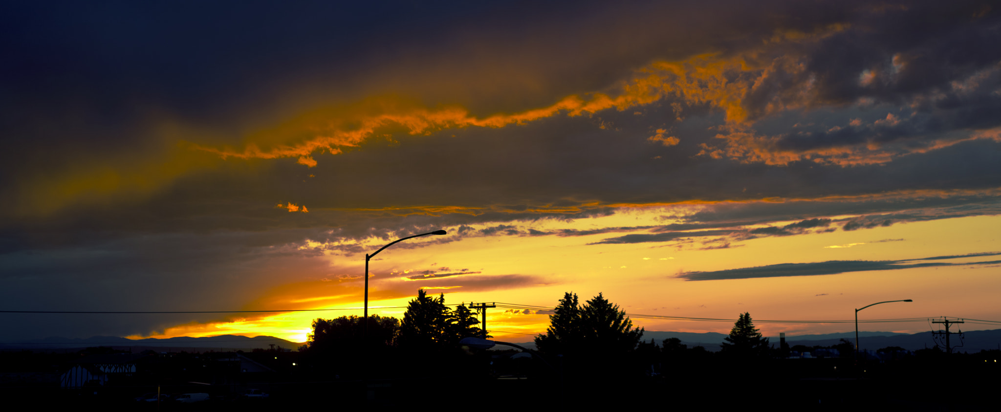 Photograph Sunset Over Gallatin Valley by Patrick Larson on 500px