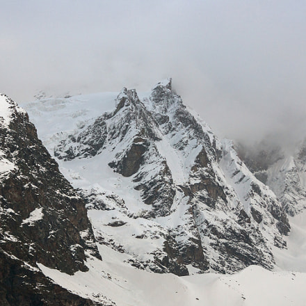Fog over the peaks