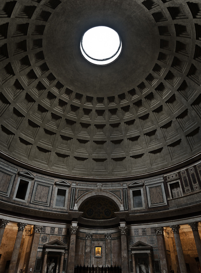 Photograph Dome of the Pantheon, Rome by Pat Kofahl on 500px