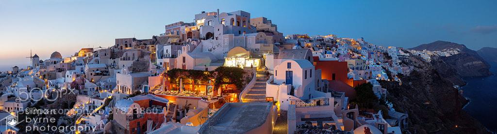 Photograph Oia, Sanotirini, Greece by Simon Byrne on 500px