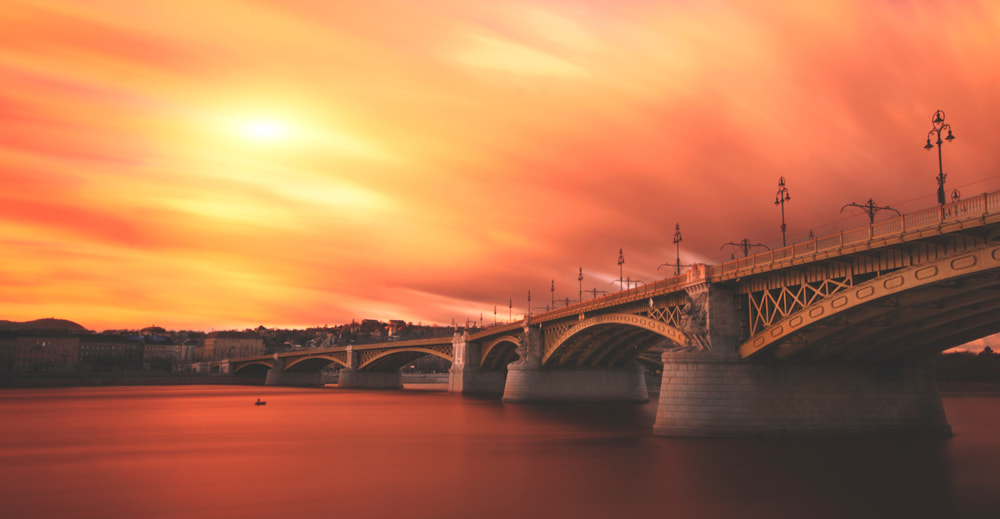 Photograph Sunset Bridge by Zoltán Koi on 500px