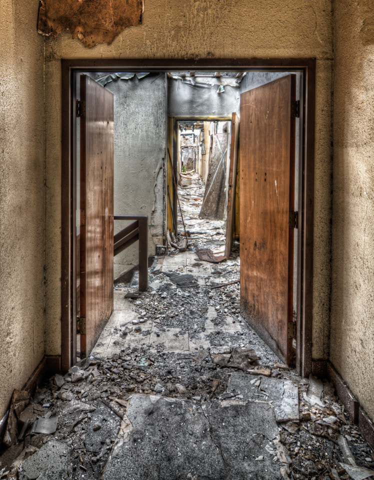 Photograph Doorway, Mare Island by Tim Fleming on 500px