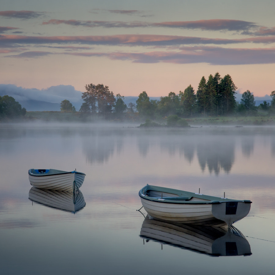 Photograph Early Sun, Loch Rusky... by David Mould on 500px