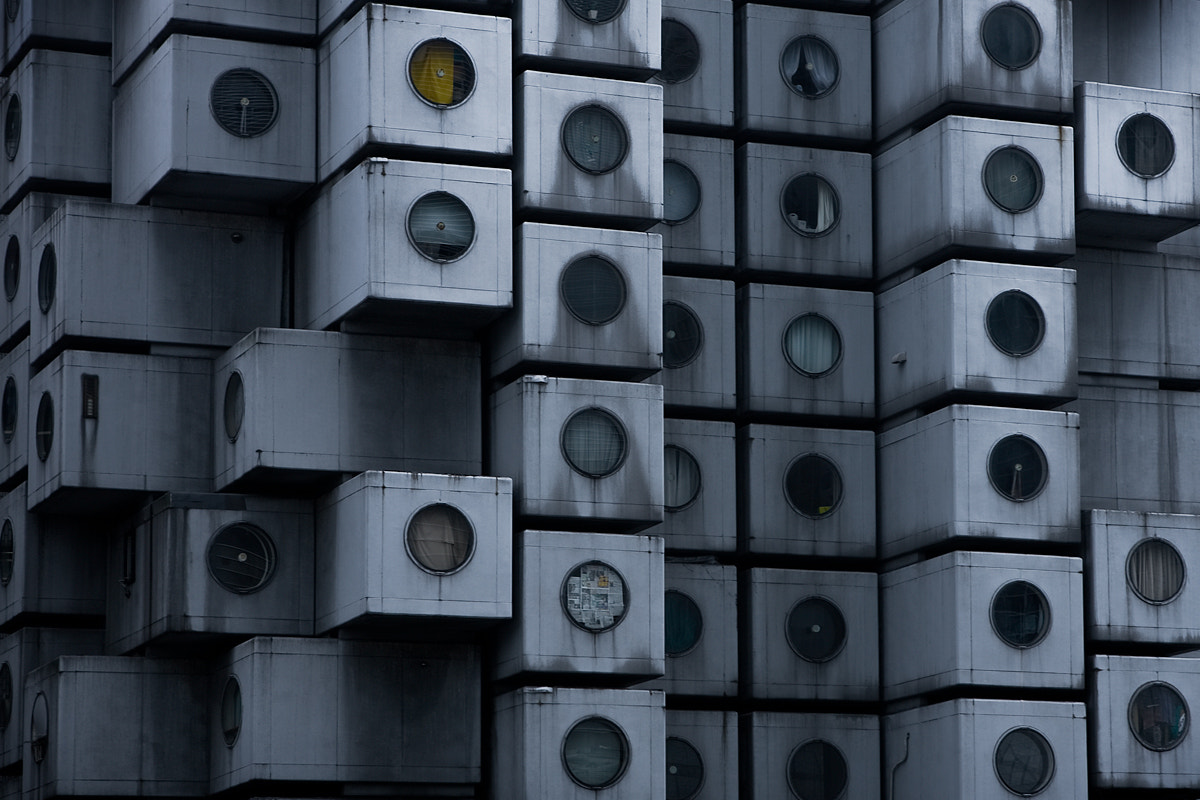 Photograph Nakagin Capsule Tower by Kim Erlandsen on 500px