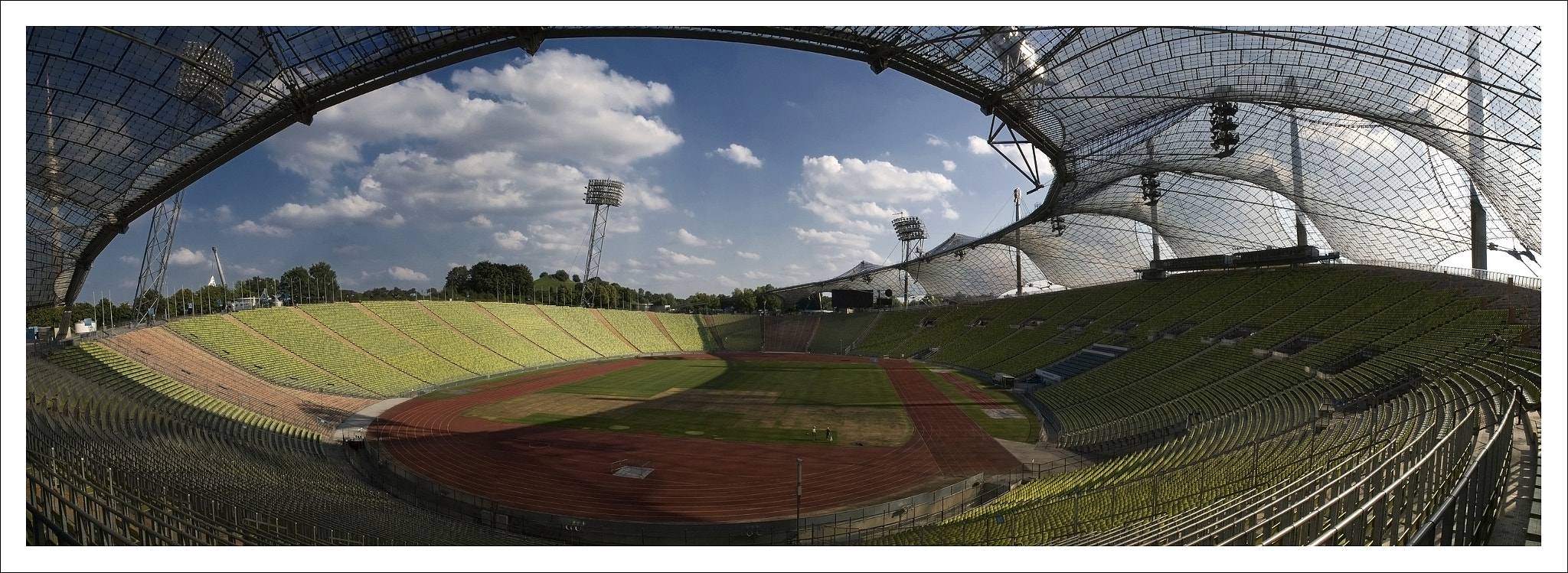 Photograph Olympiastadion München by Oscar Gomez on 500px