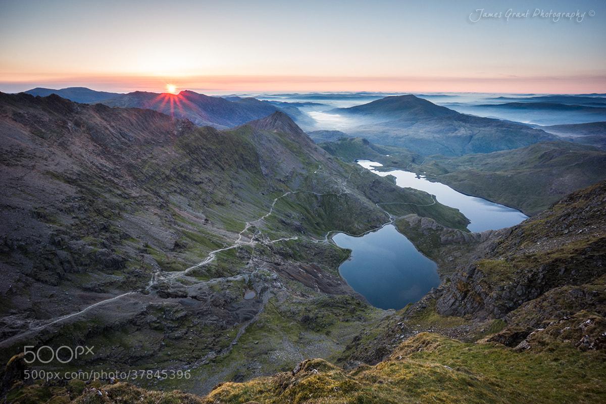 Photograph Snowdon Sunrise by James Grant on 500px