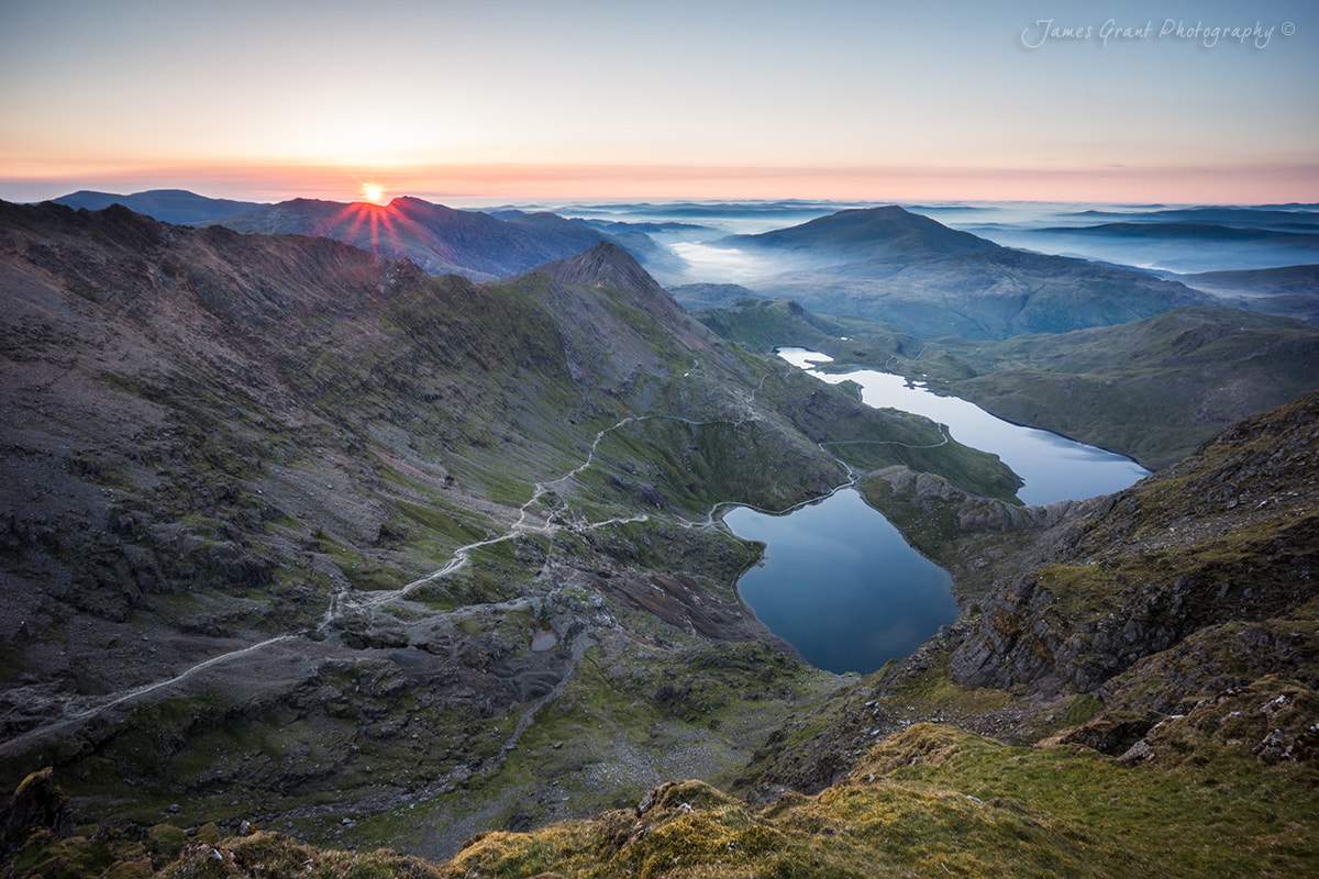 Photograph Snowdon Sunrise by James Grant on 500px