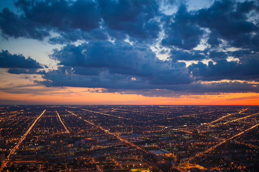 Chicago Sunset I