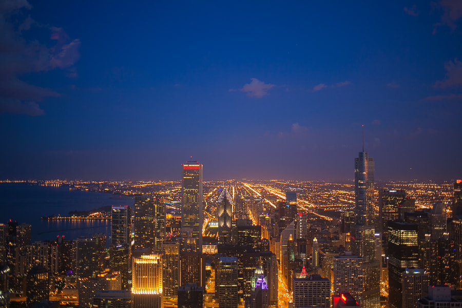 Chicago Sunset II