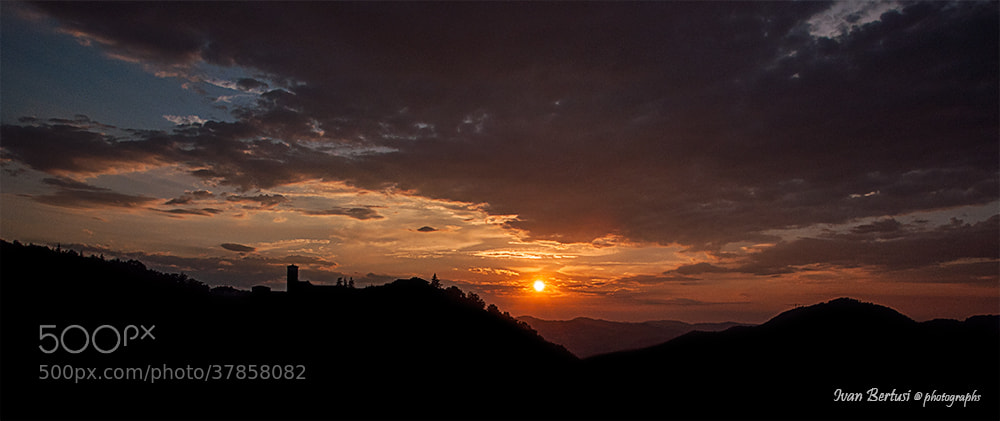 Photograph In sul calar del sole ....  by Ivan Bertusi on 500px