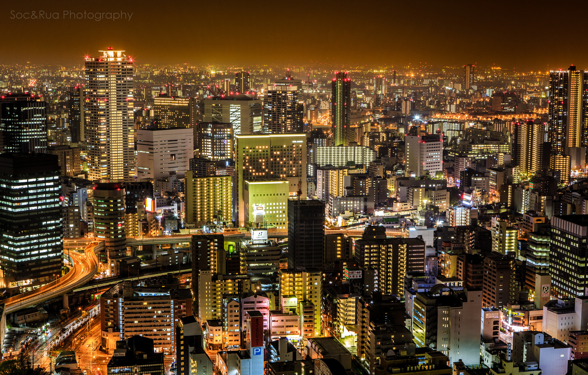 Photograph View from Umeda sky building by Huy Tonthat on 500px