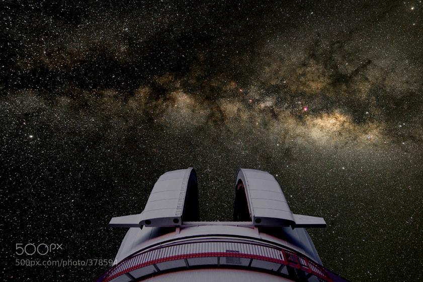 Photograph Milky Way Above Mt. McDonald by Larry Landolfi on 500px