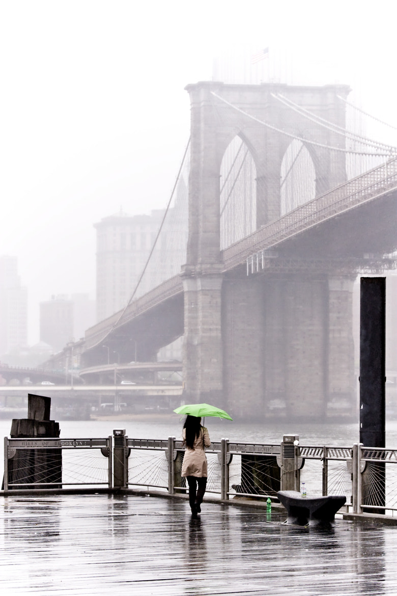 Photograph Girl with the Green Umbrella by Anthony Pitch on 500px